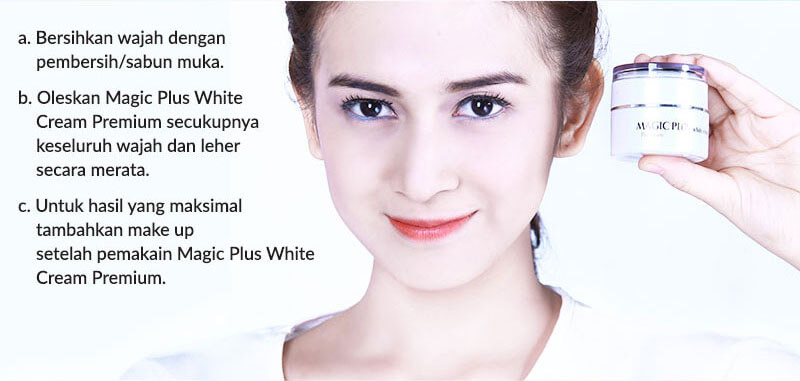 Magic Plus White Cream Asli